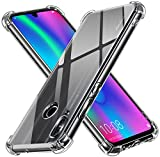 ivoler Funda para Huawei P Smart 2019 / Honor 10 Lite, Carcasa Protectora Antigolpes Transparente...