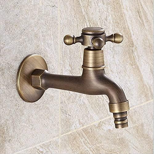 BEISUOSIBYW Co.,Ltd Grifo para Lavadora de baño montado en la Pared para jardín