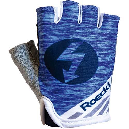Roeckl Trigolo Kids Kinder Fahrrad Handschuhe kurz blau 2020: Größe: 6