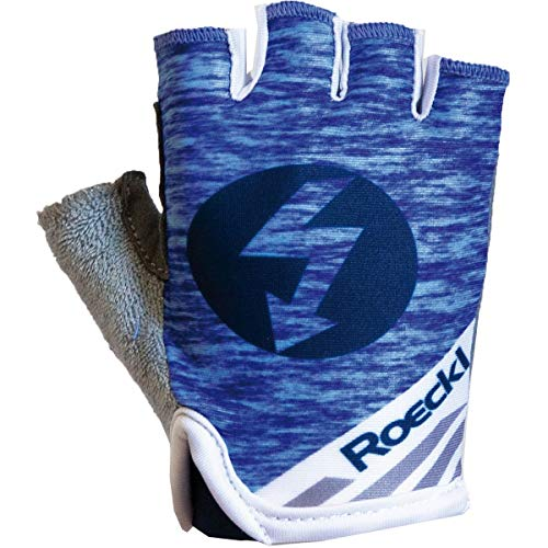 Roeckl Trigolo Kids Kinder Fahrrad Handschuhe kurz blau 2020: Größe: 4