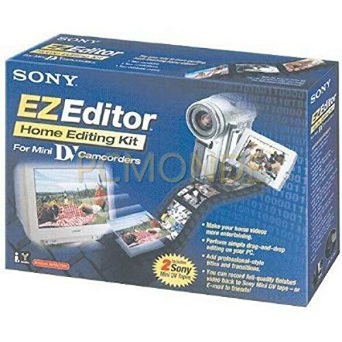 Sony EZEDITOR MiniDV Videobearbeitungs-Kit für PC (Windows 98 und höher)