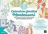 Calendrier familial Montessori septembre 2020 à janvier 2022