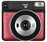 Fujifilm Instax Square SQ6 - Instant Film Camera - Ruby Red