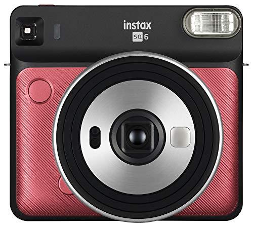 Fujifilm Instax Square Sq6 - Cmera Instantnea De Filme - Vermelho Rubi