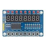 Key Display for AVR New 8-Bit Digital LED Tube 8-Bit TM1638 Module