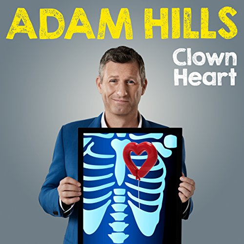Adam Hills: Clown Heart - Live cover art