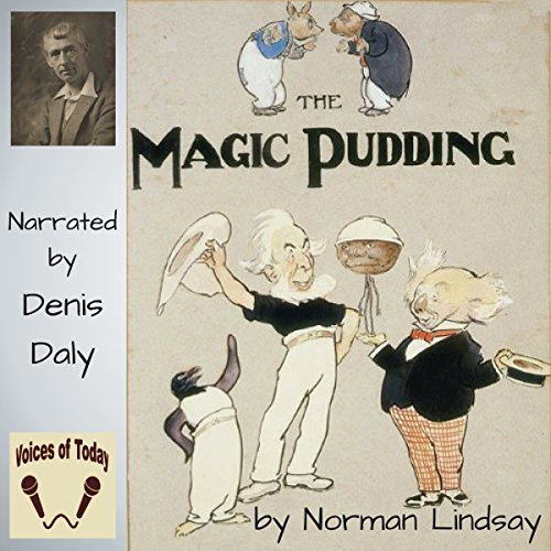 The Magic Pudding audiobook cover art