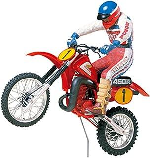 Tamiya 1/12 Motorcycle Series No.18 Honda CR450R motocross rider with 14018