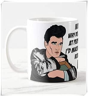 LeeHoomKok - Morrissey - The Smiths Inspired Coffee Mug Gift, Heaven Knows I'm Miserable Now, Pop Culture Gift, 11oz Ceramic Coffee Novelty Mug/Tea Cup, Mug Gift