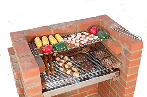 BLACK KNIGHT BARBECUES BKB 504 67 x 39 cm Deluxe Barbecue kit – en Acier Inoxydable
