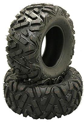 2 New WANDA ATV UTV Tires AT 26x11-12 26x11x12 DURABLE 6PR 10168 DEEP TREAD