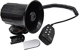 RJJX Motorfiets Auto Auto Luide Air Hoorn 125DB Siren Geluid Speaker Megafoon Alarm Van Truck Boot 50 W 12 V 6-Tone Modifi...