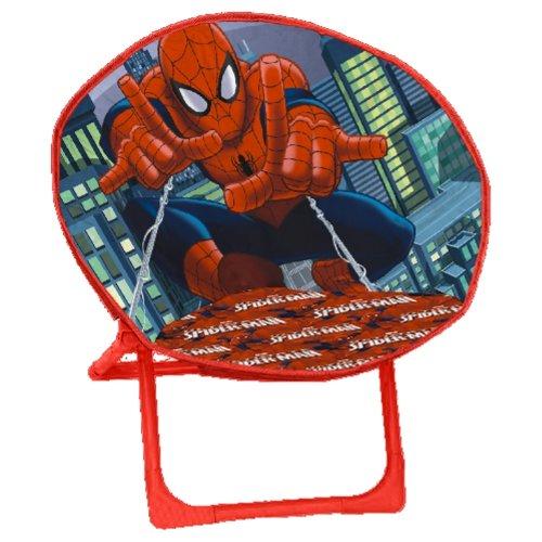 Arditex Lune, Poltrona in poliestere 50x 50x 50cm Moon chair Spiderman Bleu Marine