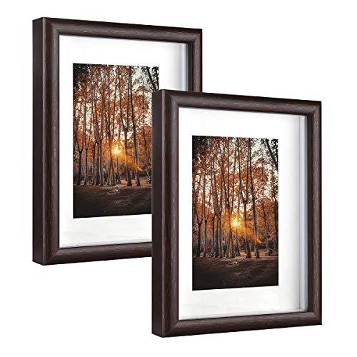 Metrekey Marco de fotos 3D de 15 x 20 cm, con cristal...