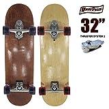 ウッディプレス スケートボード WOODY PRESS WOODY32インチ/ SK8 サーフスケート サーフィン NATURAL