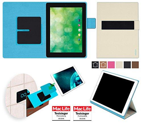 Hülle für Blaupunkt Endeavour 1000 QC Tasche Cover Hülle Bumper | in Beige | Testsieger
