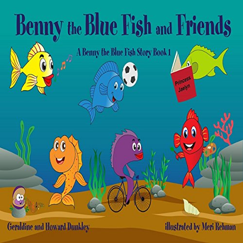 Benny the Blue Fish and Friends audiobook cover art