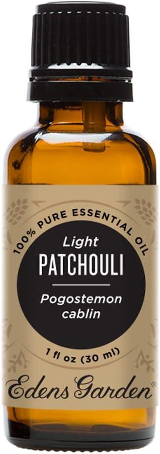 Edens Garden Light Patchouli Essential Oil, 100% Pure Therapeutic Grade, 30 ml