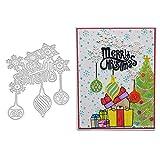Fustelle da taglio per scrapbooking, fustelle in metallo a forma di fiocco di neve natalizio, per fai da te, scrapbooking, biglietti, goffratura