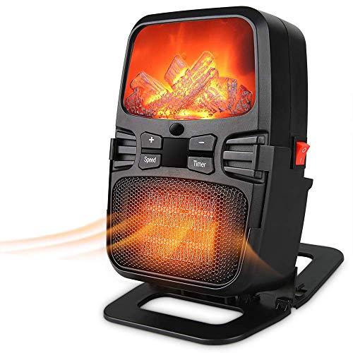 OJINYU Raumheizung - Tragbare Heizung Wand-Tischheizung - Kipp- und Überhitzungsschutz für Innenräume