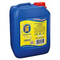 Durata unica: grazie alla speciale formula del sapone liquido PUSTEFIX si soffia più bolle, sono colorati, durano più a lungo, volano avanti e scoppiano più a lungo. La ricarica è perfetta per grandi feste. Facile da usare: fai bolle dal sapone da so...