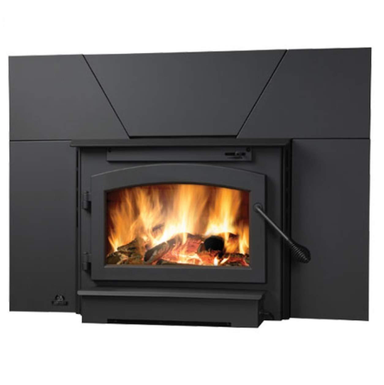Timberwolf Economizer Burning Fireplace Insert