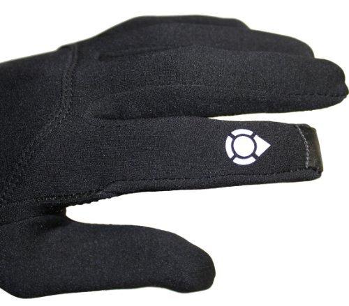 Head: Multi-Sport Gloves with SensaTEC, Black, Large Photo #2