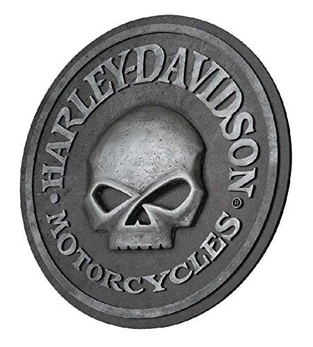 Harley-Davidson Willie G Skull Sculpted 3D Pub Sign, 18 in Diameter HDL-15311
