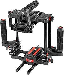 Filmcity Power DSLR Camera Cage with Top & Side Handles and Quick Release for Video DSLR Sony Nikon Canon Panasonic Lumix...