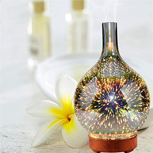 Purify 100ml Colorful LED Diffuser 3d light effect Advanced Cool Mist Humidifier
