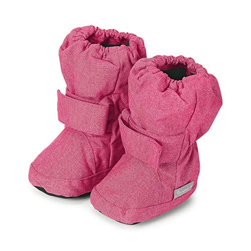 Sterntaler Mädchen Baby Stiefel mit Klettverschluss, Rosa (Magenta Mel. 746), 21/22 EU