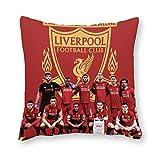 Liverpool - Cojín de almohada (40 x 40 cm, lona), diseño p
