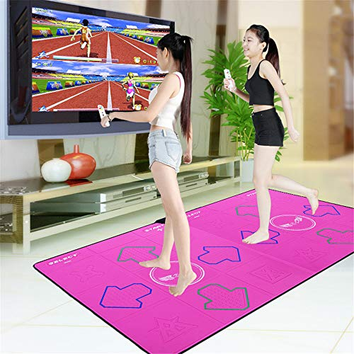 Spiel Dancer Decke, Doppel Wireless-Tanz-Spiel-Pad, TV Computer Interface Dual-Use Somatosensory Dance Machine, Plug & Play-Tanz-Auflage