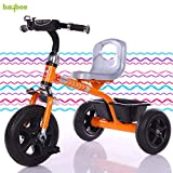 Plug and play wheels: plug and play wheels, chrome finishing of the wheels makes it loved by baby and parents. Even it is great to use inside home Installation 5 mins : erangel is designed to help parents which makes assembly of tricycle so simple th...