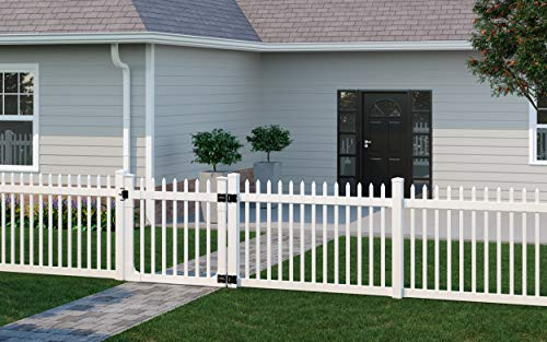 """WamBam Fence BL19102 Fence, 48"""" Height by 48"""" Width, Nantucket Gate"""
