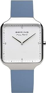 BERING Reloj Analógico para Hombre de Cuarzo con Correa en Silicona 15836-700