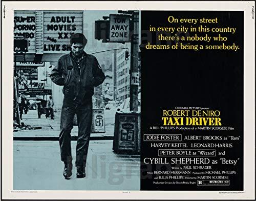 PostersAndCo ™ Taxi Driver Film Rojo-Poster 40x60cm* d1 Affiche Cinéma