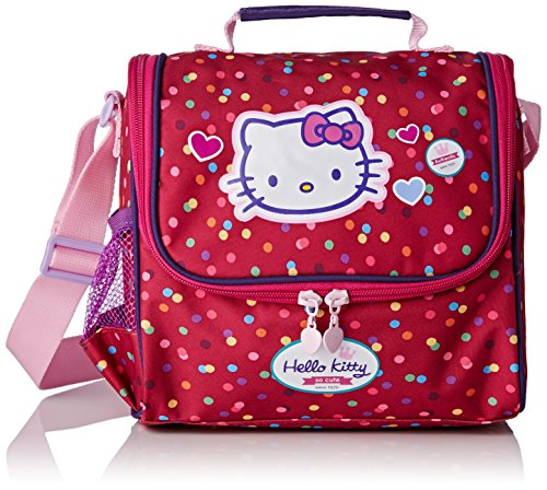 Hello Kitty Sac à Dos Loisir Sac Gouter, 23 cm, Rose (Framboise)