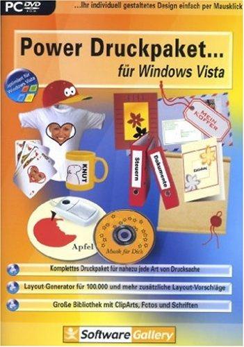 Preisvergleich Produktbild Power Druckpaket für Windows Vista
