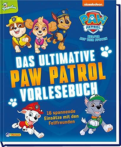 PAW Patrol: Das ultimative PAW-Patrol-Vorlesebuch: 16 spannende Einsätze aus der Fernsehserie auf mehr als 300 Seiten (ab 3 Jahren)