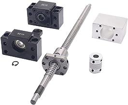 1 Jeu de Support dExtr/émit/é BK // BF12 6,35 x 10 mm Olibelle Vis /à Billes Antibacklash RM1605-1500 mm Coupleur 1pcs 6,35 x 10 mm