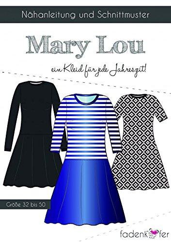 Stoffe Werning Schnittmuster Fadenkäfer Mary Lou - Erwachsene in den Größen 32-50 Papierschnittmuster