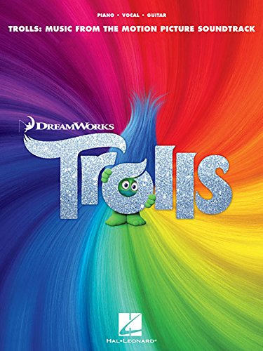 Trolls: Music From The Motion Picture Soundtrack (PVG): Songbook für Gitarre (Pianovocalguitar a)