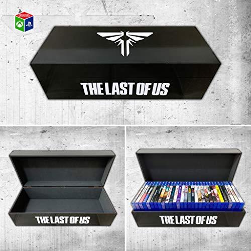 Porta jogos para PS3/PS4 The Last of Us (30 jogos) Preto