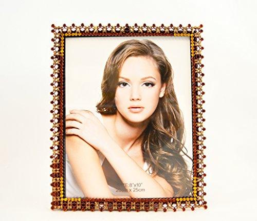 Swarovski Crystals Picture Frame heirloom gifts