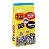 Contains one (1) 34.4-ounce, 140-piece variety bag of Hershey Assorted Chocolate Miniatures Candy Open a bag of Hershey Miniatures Chocolate Candies for every movie marathon, campfire, sports game and birthday party where friends and family are near ...