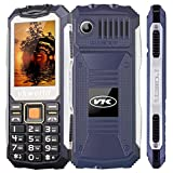 Téléphone VKworld Stone V3S, Antichoc étanche,2G,2Sim,FM, Bleu