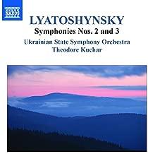 Lyatoshynsky: Symphonies Nos 2 & 3 [Theodore Kuchar] [Naxos: 8555579] by Ukrainian State Symphony Orchestra (2014-12-14)