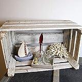 Glaskönig Vasen-Set, Geschenkset auf einem Holzbrett | Kleine Mini Blumenvasen als Tischdeko mit 5 Glasflaschen | Mini Vasen Set für einzelne Pflanzen oder Kunstblumen ganzjährig als Dekoration - 7