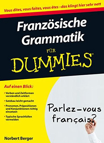 Französische Grammatik für Dummies